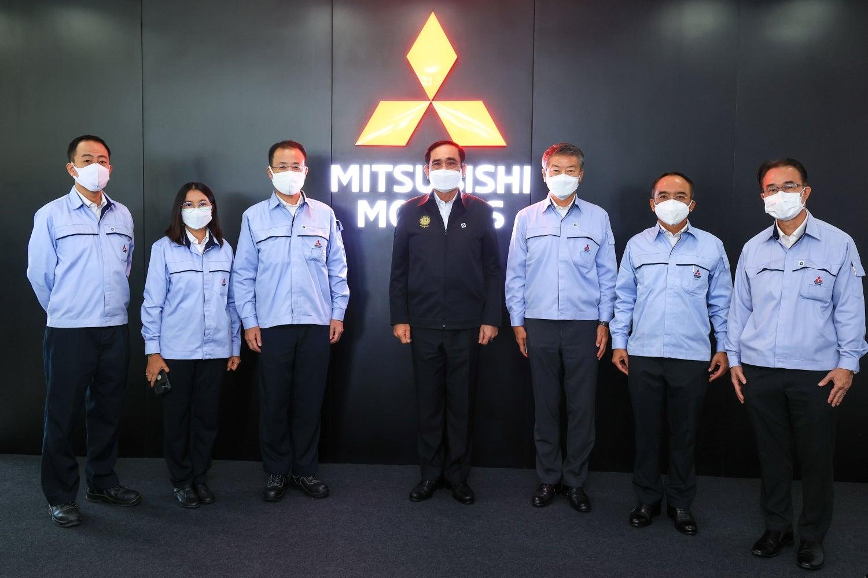 """มิตซูบิชิ มอเตอร์ส ประเทศไทย ต้อนรับนายกเยือนศูนย์การผลิตฯ แหลมฉบัง รายงานผลความคืบหน้า โครงการ """"Factory Sandbox"""" ตอกย้ำความร่วมมือรัฐ กระตุ้นอุตสาหกรรมยานยนต์ สร้างเสถียรภาพทางเศรษฐกิจไทย"""