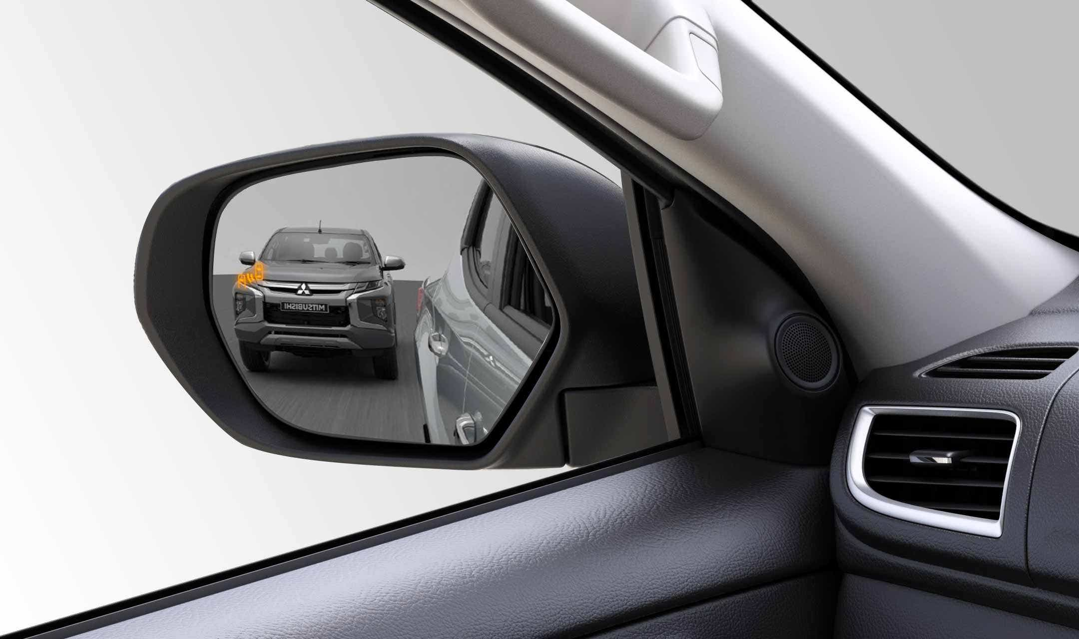 BLIND SPOT WARNING WITH LANE CHANGE ASSIST - BSW WITH LCA