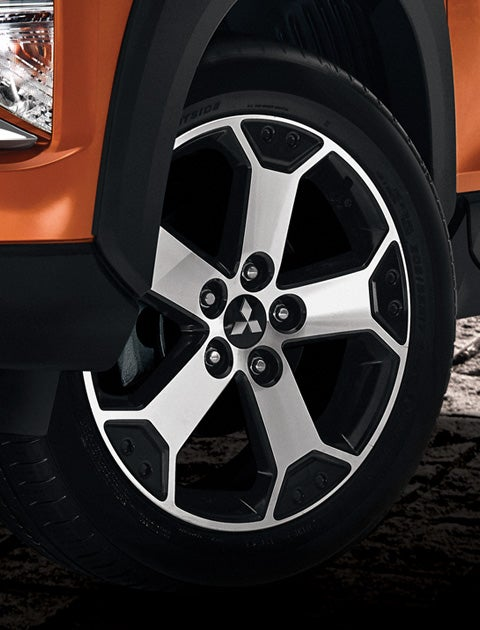 17 inch two – tone alloy wheels